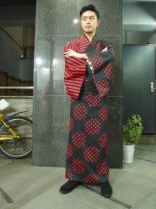 ジッパーきもの / Kimono with fastener