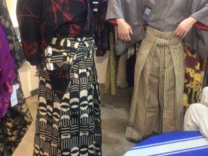 メンズ きもの 着物 ゆかた 浴衣 KIMONO 原宿 HARAJUKU 男 レザー角帯  袴 和次元滴や