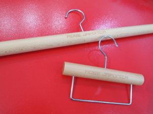 きものハンガー 木製 きもの 着物 メンズ カラフル ポップ ドレッシー 帯ハンガー